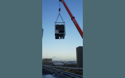 Nieuwe koelmachine voor Maincourt in Amsterdam