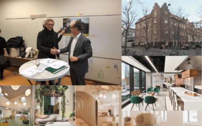 Building Services tekent aannemingsovereenkomst Cornelis Vrijschool Amsterdam
