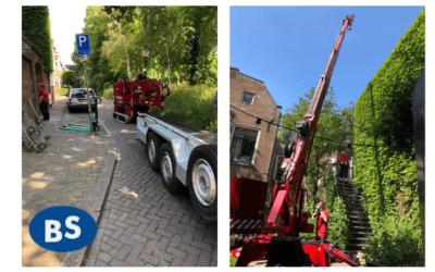 Koelmachine geplaatst in hartje Utrecht
